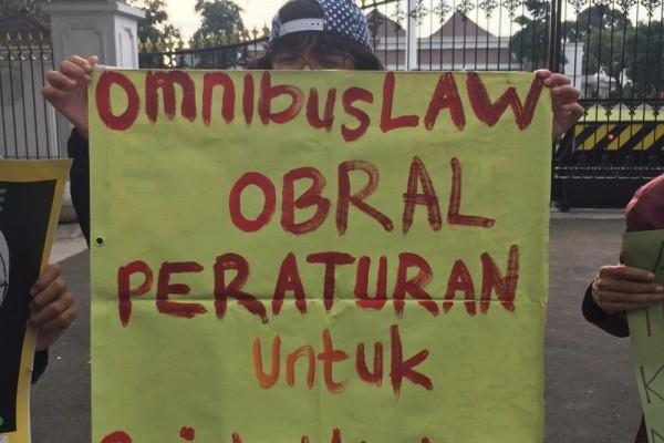 Aksi Jampiklim di Titik Nol Malioboro Yogyakarta