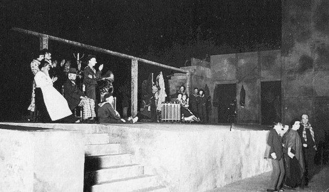 I giganti della montagna - Prima messinscena, 5 giugno 1937 – Firenze, Giardino di Boboli (Prato della Meridiana)