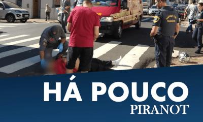 Acidente entre carro e moto deixa uma vítima, em Piracicaba (SP)