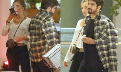Caio Castro e Grazi Massafera passeando em shopping no Rio (Foto: Reprodução)