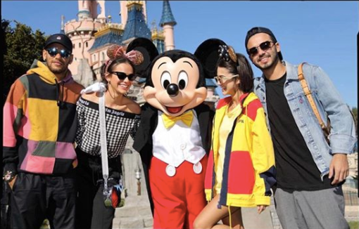 Neymar viajou pra Disney com Manu Gavassi do BBB20