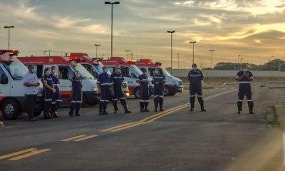 Colegas de trabalho homenageiam enfermeiro morto por COVID-19 em Piracicaba