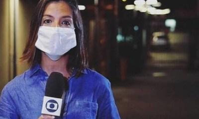 Repórter feita de refém na Globo - Reprodução