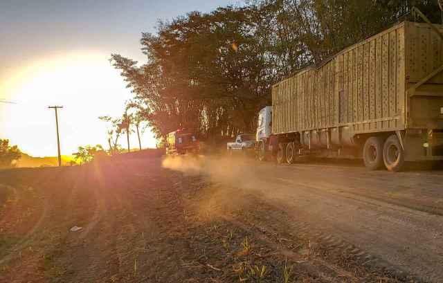 Imagem da estrada onde ocorreu o acidente