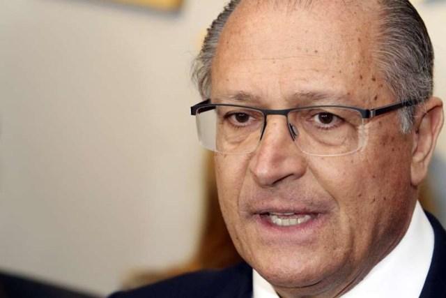 Uma foto do ex-governador Geraldo Alckmin