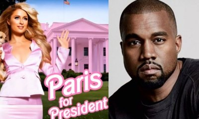 Foto de Paris Hilton e Kanye West