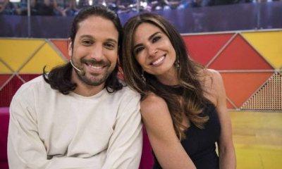Foto de Luciana Gimenez e seu irmão