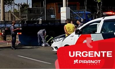 Uma imagem com selo de urgente do PIRANOT