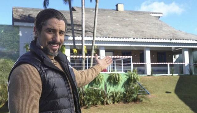 foto da casa do reality show a fazenda da record