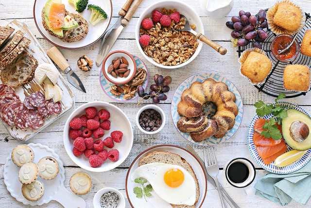 uma foto de comida