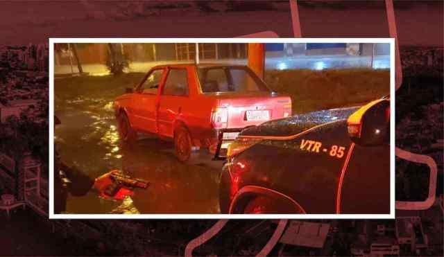 Usando carro 'caindo aos pedaços', bandidos roubam posto e acabam presos em Piracicaba