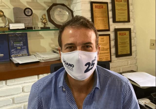 Política Piracicaba (SP): após sintomas, Luciano Almeida faz exame para COVID