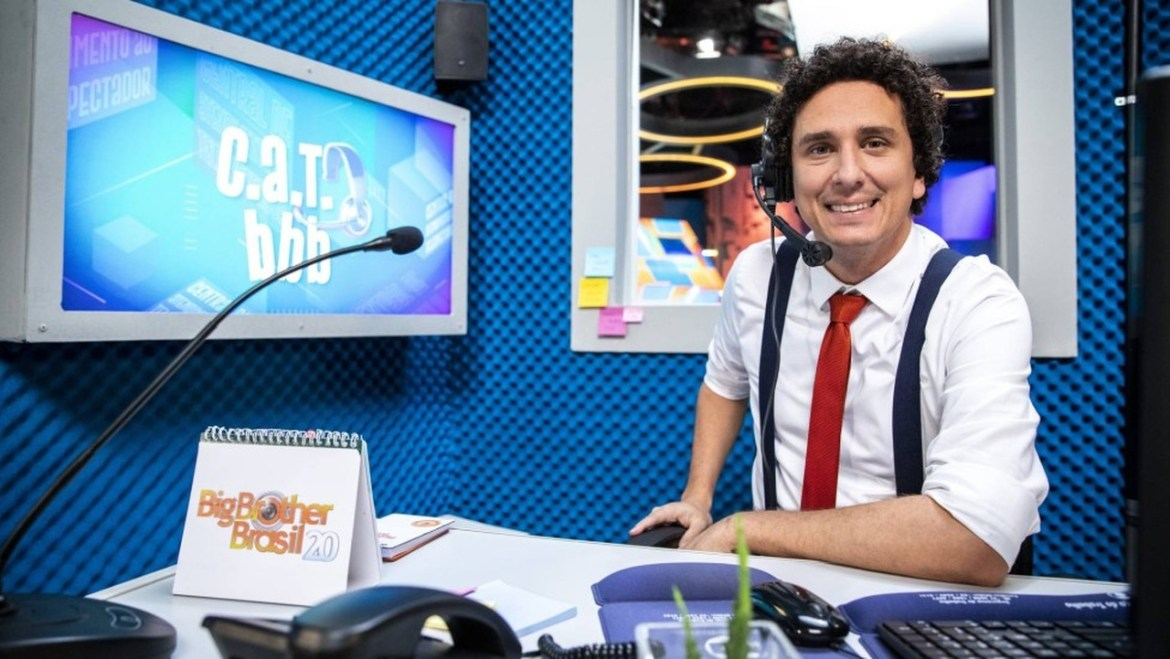 Rafael Portugal no CAT do BBB21