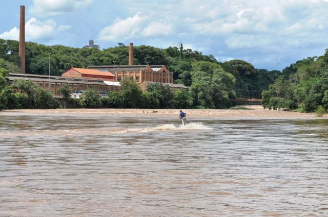 Rio Piracicaba em Piracicaba