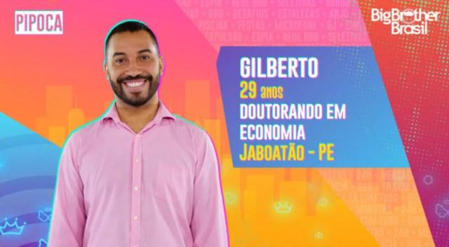 Quem é Gilberto do BBB21