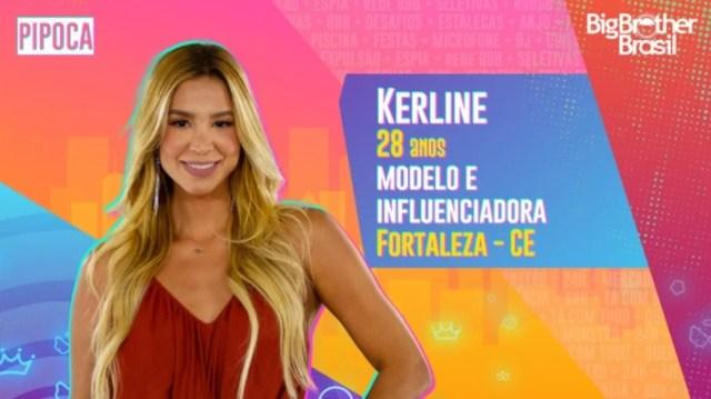 Veja quem é Kerline do BBB21