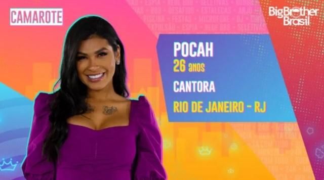 Veja quem é Pocah do Grupo Camarote do BBB21