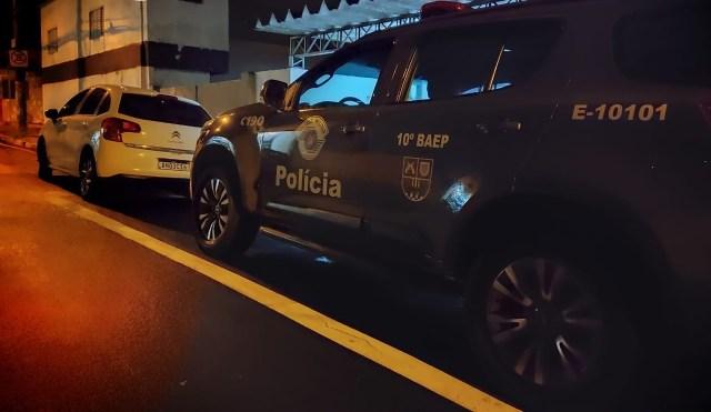 Três indivíduos são presos pelo BAEP após roubarem motorista de aplicativo