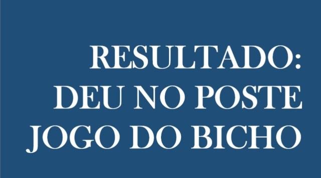 resultado do Jogo do Bicho desta sexta-feira, 26/03/21