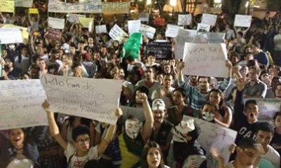 Manifesto foi liderado por alunos da USP e deverá ganhar mais edições em cidade do interior do estado de São Paulo.