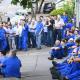 Trabalhadores foram avisados sobre leilão nessa manhã (28) - Foto: Mateus Medeiros / Sindicato dos Metalúrgicos de Piracicaba