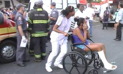 Desesperados, alguns pacientes choravam - Foto: Valter Martins / Piracicaba em Alerta