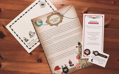 Carta de Papá Noel a nuestros pequeños socios