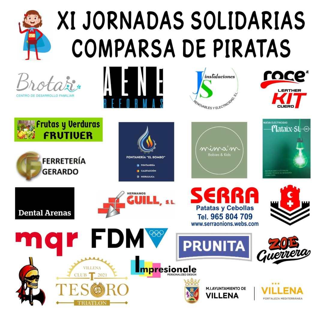 cartelPatrocinadoresKilometrosPorZoe | Piratas Villena