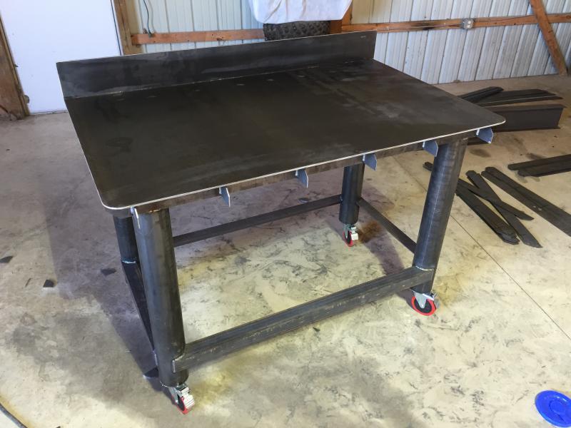 metal shop tables pirate 4x4
