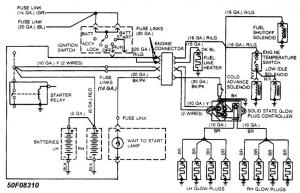 Wiring diagram for an 88 F250 IDI Diesel  Pirate4x4Com
