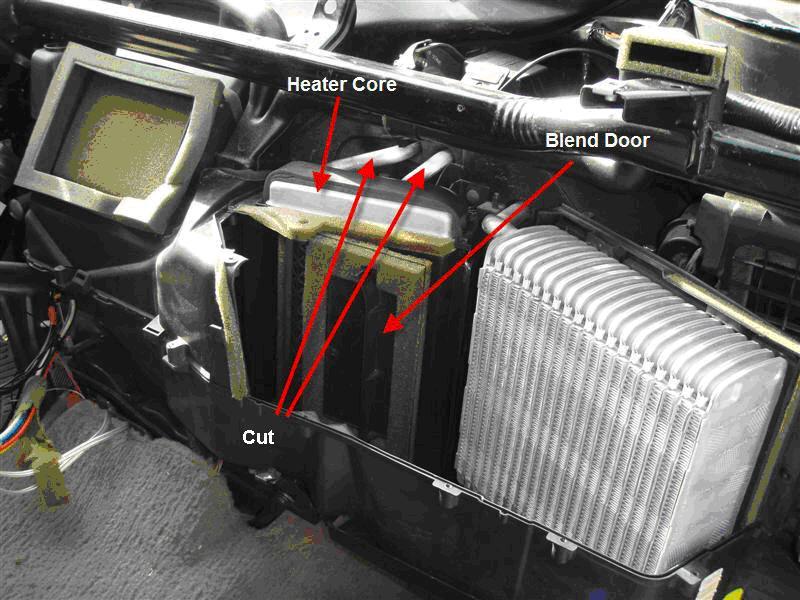 F150 Blend Door Actuator Location