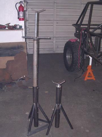 Lets See Pics Easy Homemade Jackstands 4x4 And Off Road Forum
