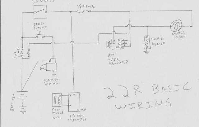 22re coil diagram data wiring diagrams