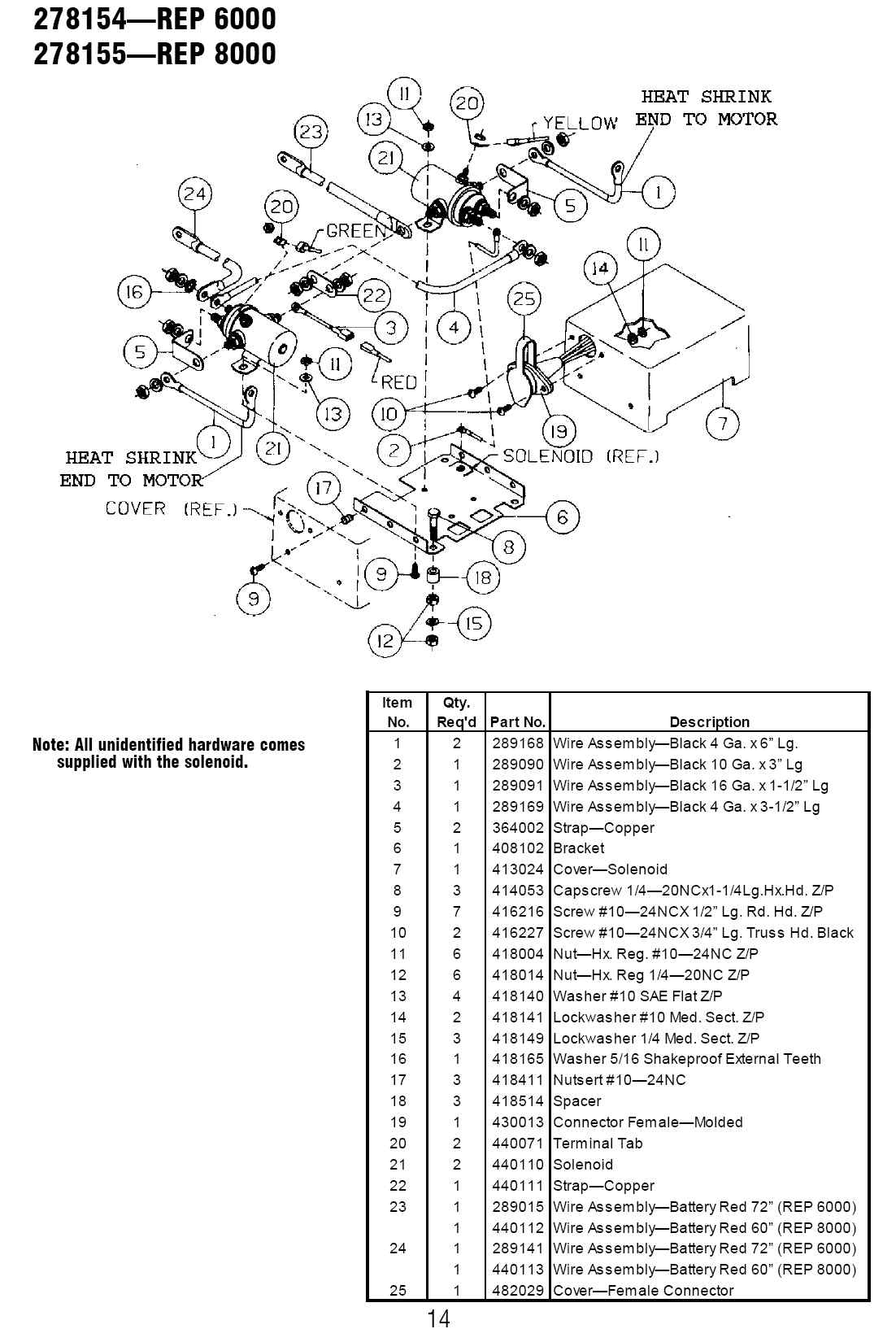 Need Wiring Diagram For Winch