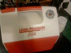 A small playmate cooler