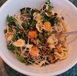 Orecchiette with Pancetta, Pumpkin and Broccoli Rabe