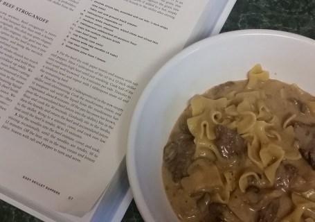 Skillet Beef Stroganoff from America's Test Kitchen