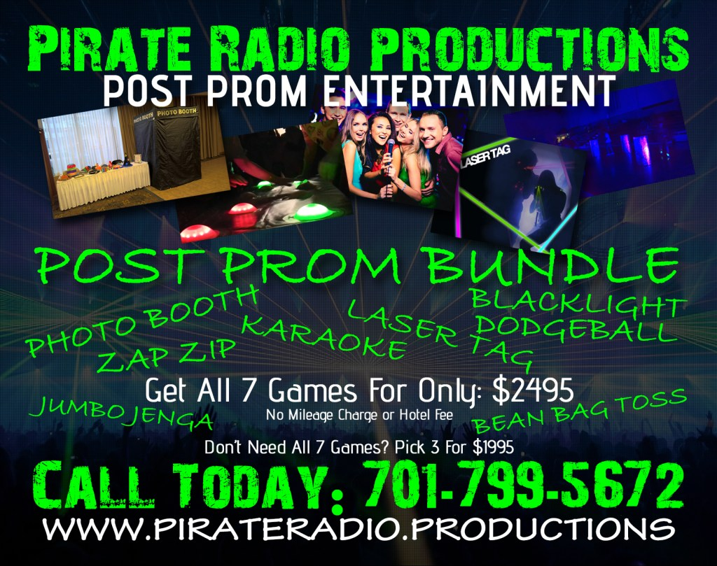 Post Prom Entertainment Bundle