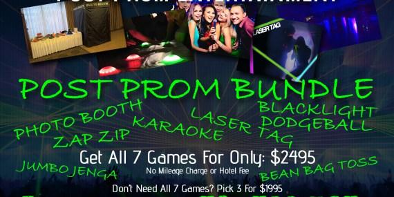 Post Prom Entertainment Bundle