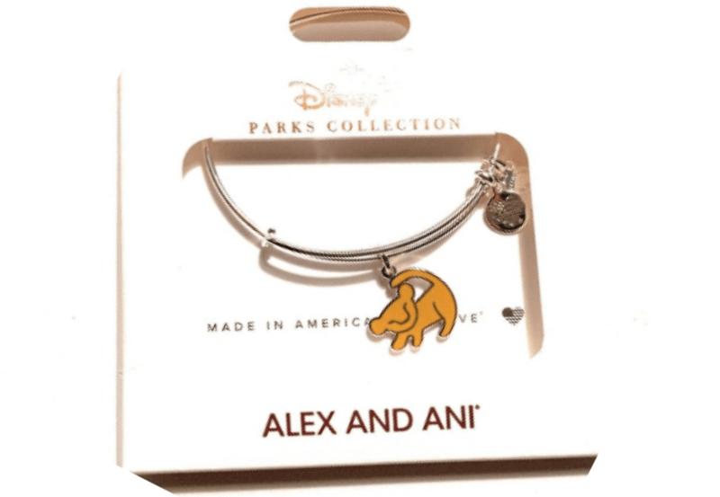 Disney Parks Alex Ani Bangle Gold Lion King Hakuna Matata 2 Sided Bracelet NEW