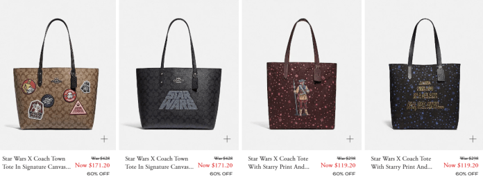 100% high quality buy good best website The New Star Wars X Coach Collection is Out Online ...