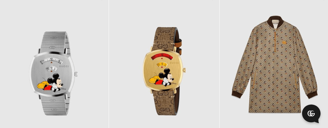 More Gucci Items Celebrating Mickey and Minnie Mouse for