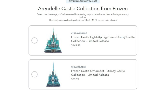Merch Pass Now Open For Disney Castle Collection Arendelle