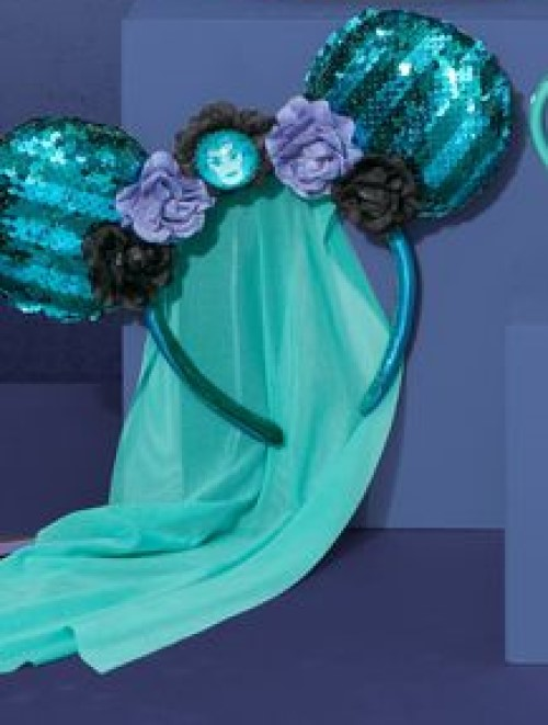 Disney Minnie Main Attraction Haunted Mansion Ears Headband Leota NEW