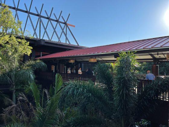 Polynesian Village Resort Monorail Station
