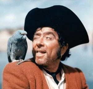 Talk like a pirate day, Robert Newton
