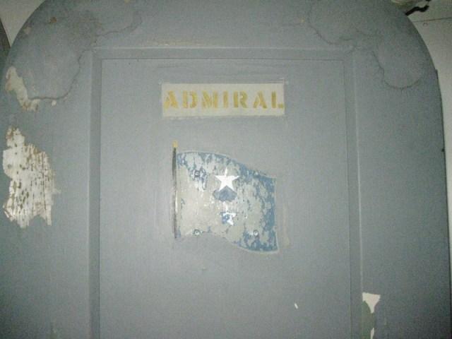 Admirals door