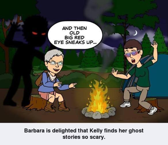 barbara tells story