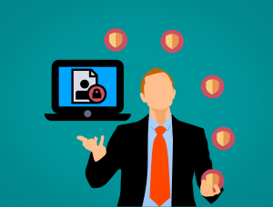 Image of a CISO juggling many tasks
