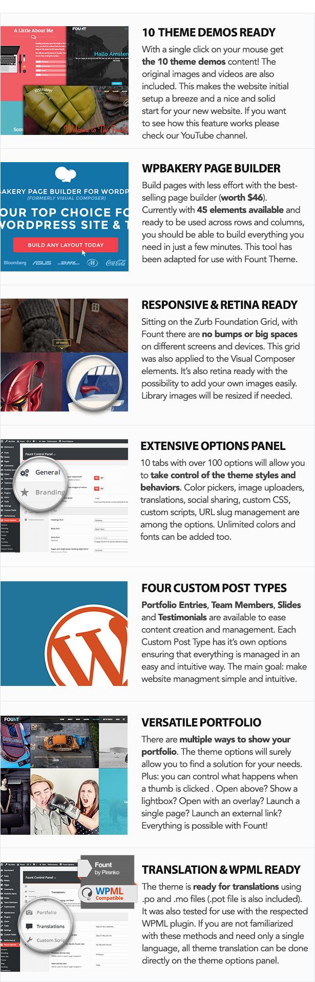 Fount - One & Multipage Hybrid WordPress Theme - 3